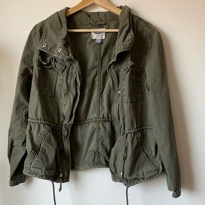 Old Navy Utility Jacket - Army Green